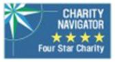 Charity Navigator Four Star Charity banner