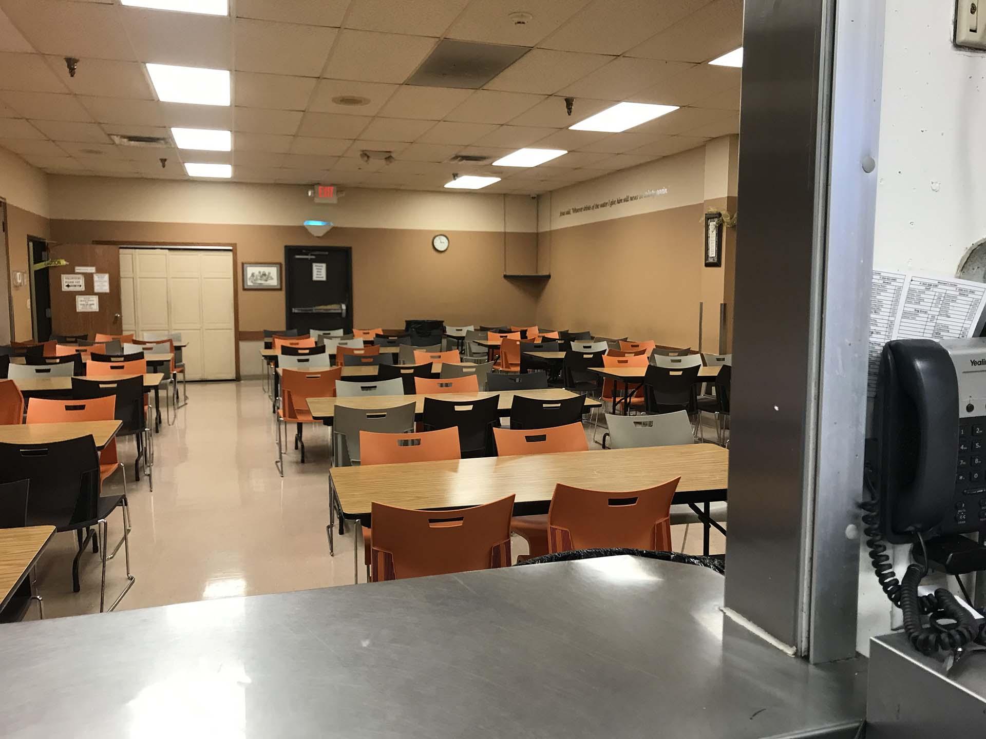 Dining room at Shelter KC