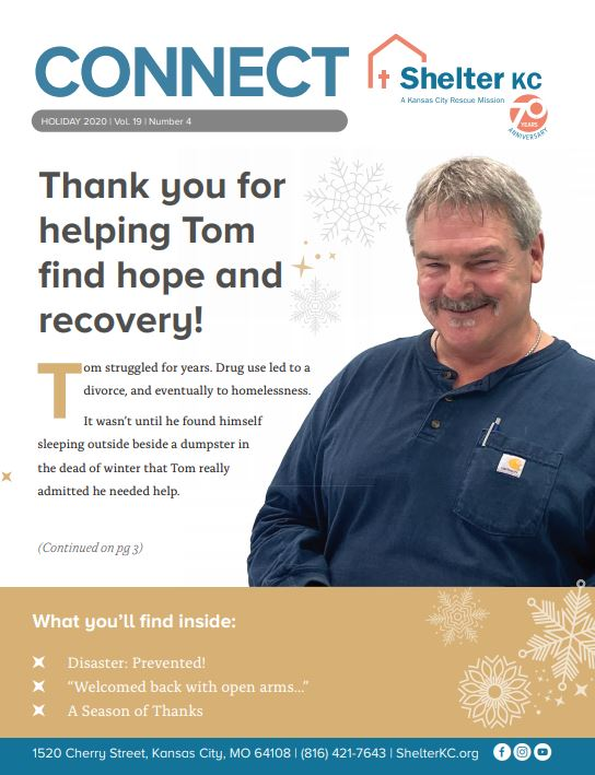 Connect Volume 19 with Tom's story
